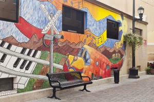 Old Town Fort Collins mural