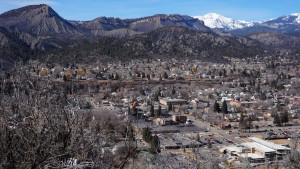Downtown in Durango Colorado